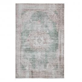 ALFOMBRA INDIA TURQUESA 160 X 230 CM