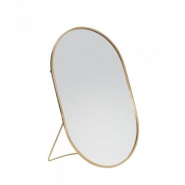 Espejo oval de mesa.