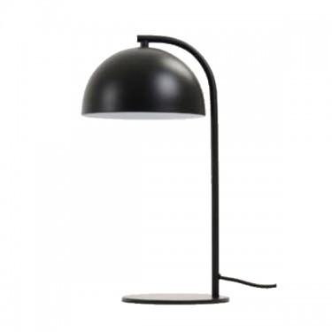 Lámpara de mesa Mette negra.