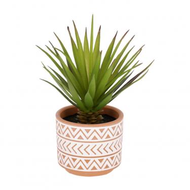FLOWER Suculenta de palmera pequeña artificial