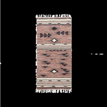 Alfombra boho. 90x200cm