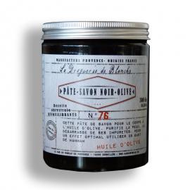 Jabón negro con aceite de oliva. Elimina impurezas.