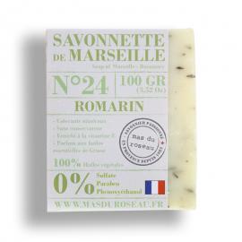Pastilla jabón de marsella romero 100% ecológico.