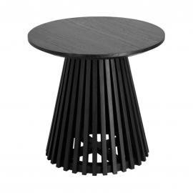 IRUNE Mesa auxiliar madera negro