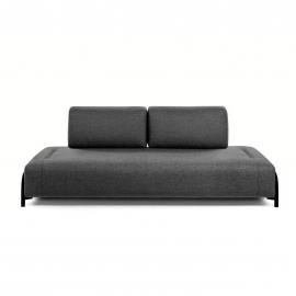 Módulo Compo 3 plazas gris oscuro 232 cm