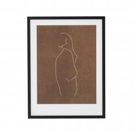 Lámina figura abstracta.