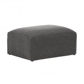 Puf Blok 90 x 70 cm gris
