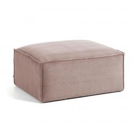 Puf Blok 90 x 70 cm pana rosa