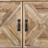 Estantería madera. 88x37x170 cm.
