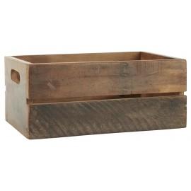 Caja de madera.