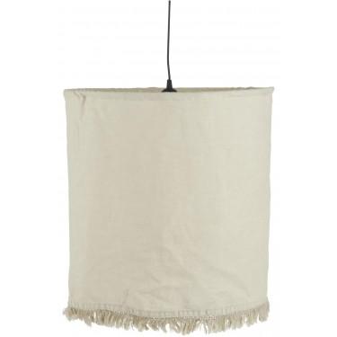 Lámpara de techo lino.