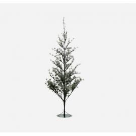Árbol de Navidad con luces. 180 cm.