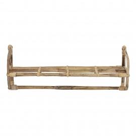 Balda de bambú.55x22x16 cm.