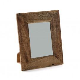 Portafotos de madera.
