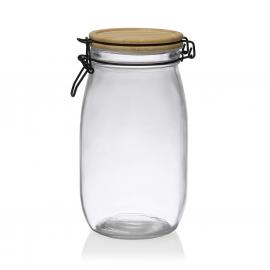 Tarro de cristal hermético 1500ml