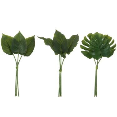 Ramillete hojas. Varios tipos.