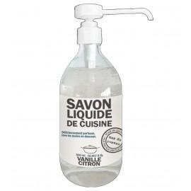 Jabón líquido de cocina - Fragancia de vainilla y limón.