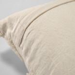 Funda de cojín Silene 45 x 45 cm rayas beige