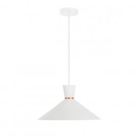 Lámpara de techo Vesta de acero con acabado blanco