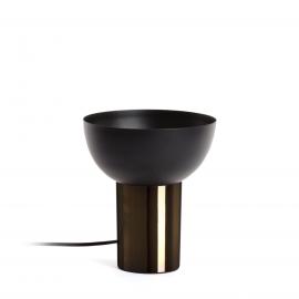 ASTRO Lámpara de sobremesa de metal y níquel