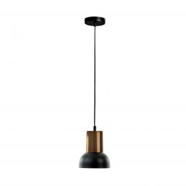 ASTRO Lámpara de techo de metal y níquel
