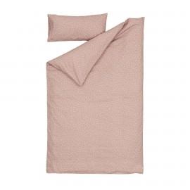 Set Betiana funda nórdica, bajera y funda almohada algodón orgánico GOTS topos 60 x 120 cm