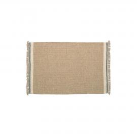 Alfombra Nam 60 x 90 cm beige