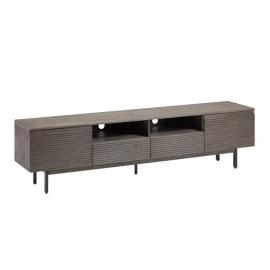 Mueble de TV Indiann madera maciza acacia 210 x 35 cm