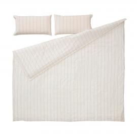Set Kalid funda nórdica, bajera y funda almohada algodón orgánico GOTS 145x190 cm