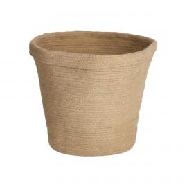 Cesta Sibila 100% algodón marrón