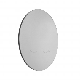 Espejo de pared redondo Ludmila luna Ø 50 cm