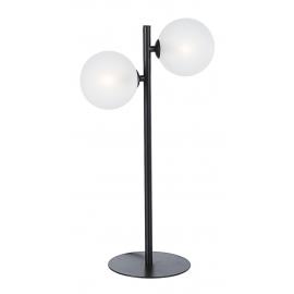 Lámpara de mesa dos esferas.