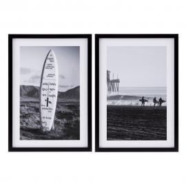 CUADRO IMPRESIÓN SURF 2/M DECORACIÓN 49 X 69 X 2 CM