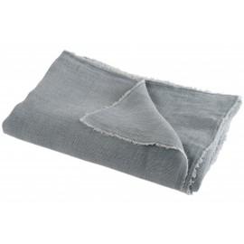 Plaid lino gris.