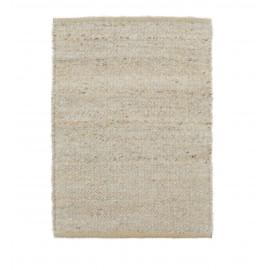 Alfombra Hempi en color gris claro 90 x 60 cm
