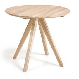 Mesa redonda Maial madera maciza teca Ø 90 cm