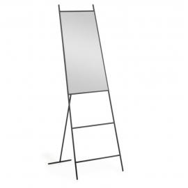 Espejo de pie Norland metal negro 55 x 166 cm
