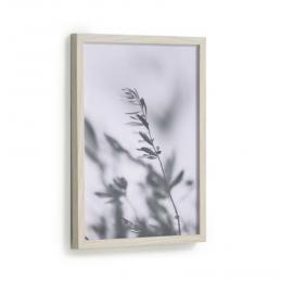 Cuadro Makena hojas olivo gris 30 x 40 cm