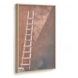 Cuadro Lucie escalera madera 50 x 70 cm
