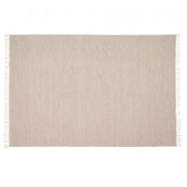 Alfombra exterior Elbia de PET marrón 160 x 230 cm