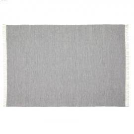 Alfombra exterior Elbia de PET gris 160 x 230 cm