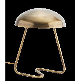 Lámpara hierro dorado.