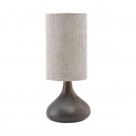 Lámpara cerámica.