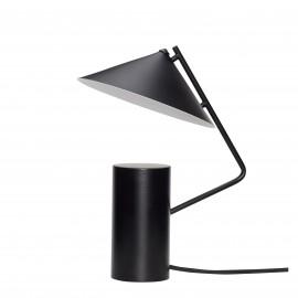 Lámpara hierro negro.