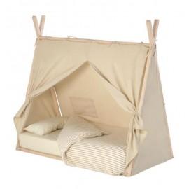 Cubierta 100% algodón para cama tipi Maralis 90 x 190 cm