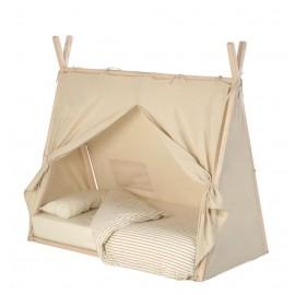 Cubierta 100% algodón para cama tipi Maralis 70 x 140 cm