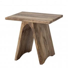 Mesa auxiliar madera.