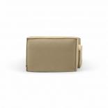 Sofá desenfundable Blok de 2 plazas con lino beige 210 cm