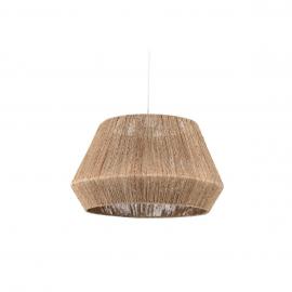 Pantalla para lámpara Crismilda 100% yute con acabado natural Ø 50 cm