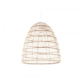 Pantalla para lámpara Dunya 100% ratán con acabado natural Ø 35 cm